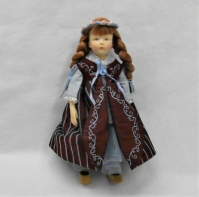 "New Kish 8 1/2"" Doll with 2 outfits"