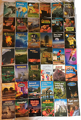 Lot of 42 Harcourt Science Readers Grade 2 Level TEACHING SUPPLIES
