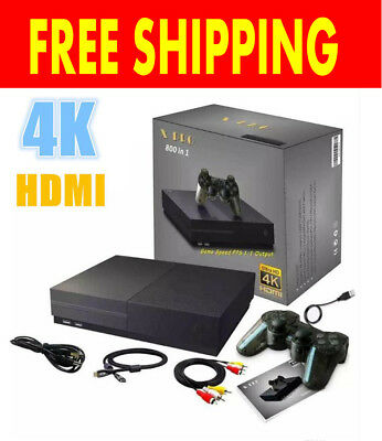 X PRO Game Console HDMI Support 4K Built-in 800 games Nintendo Gameboy Sega NES