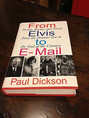 From Elvis to E-mail: Trends, Events, and Trivia nice Gift Ready