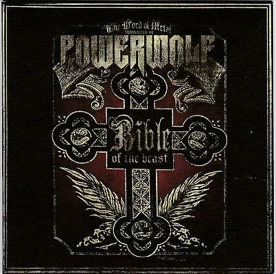 Powerwolf ‎– Bible Of The Beast RARE CD! BRAND NEW! FREE SHIPPING!