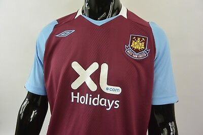 HAMMERS 2008 Umbro West Ham United Home Shirt SIZE 3XL (adults)