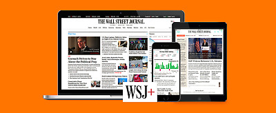 [Limited Time Offer]Wall Street Journal WSJ 5-Year PERSONAL Digital Subscription