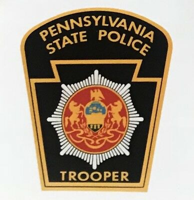 Pennsylvania State Police Decal Sticker