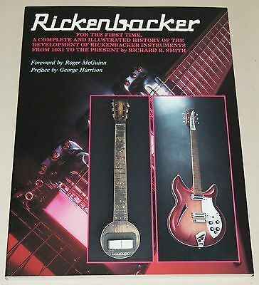The History of the Rickenbacker Guitar Story Guide Gitarre Buch Softcover NEU