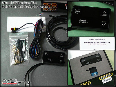 GFB G-Force II Electronic Boost Controller Toyota Starlet Glanza V Turbo 4EFTE