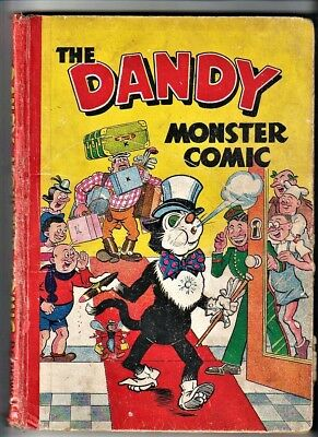 DANDY MONSTER COMIC 1949 Book D.C.Thomson Annual (1948)