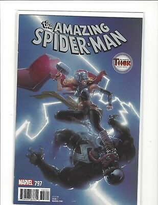 AMAZING SPIDER-MAN #797 CLAYTON CRAIN VARIANT MIGHTY THOR COVER 1st PRINT NM