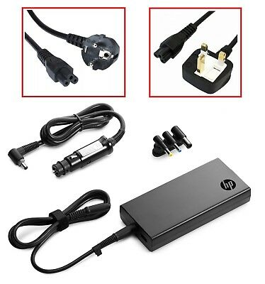 NEW HP 90W Slim Combo Auto / Air Smart Power Adapter Laptop Car Charger H6Y84AA