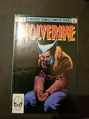 WOLVERINE Vol. 1 No. 3 A Marvel Comics Limited Series November 1982