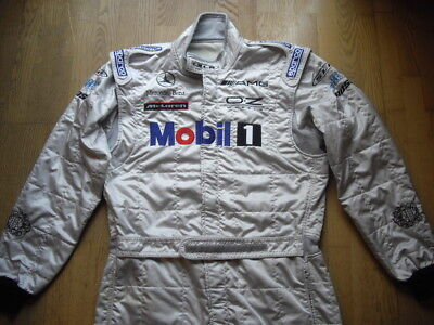 Mclaren SLR AMG Rennoverall Mercedes Benz Race Suit Sparco Gr. 60 Racing Overall
