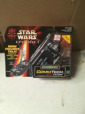 *NIP* Hasbro Star Wars Commtech Reader 1998 Episode I Electronic Sealed New Pics