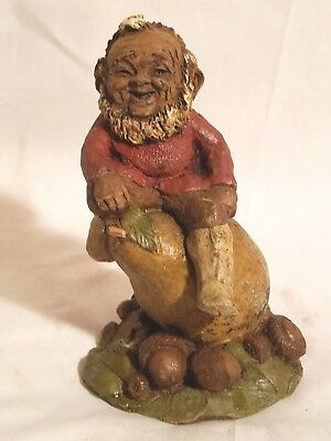 "Rare TOM CLARK SIGNED GNOME WOODSPIRIT ""BART"" Edition #8"