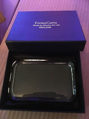 Glass Paperweight New In Box Great Gift