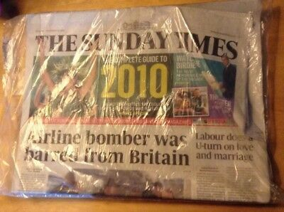 The Sunday Times December 27th 2009 No. 9,669 In Plastic Bag