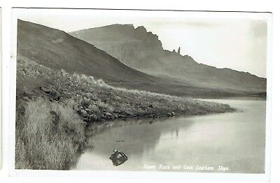 Isle of Skye postcard Steer Rock and Loch Leatham