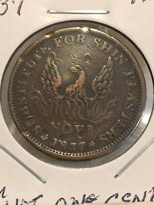 1837 Hard Times Token NOT ONE CENT NO RESERVE!!! + FREE SHIPPING!!!
