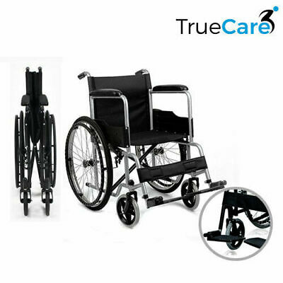 Self Propelled Wheelchair lightweight folding Manual Wheelchair Swing Foot Rests