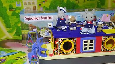 Sylvanian Families Rose of Sylvainan Boxed  Seabreeze Family + Beaver