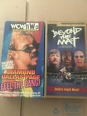 Beyond The Mat Vhs New Sealed Wwe Wwf Terry Funk Mick Foley The