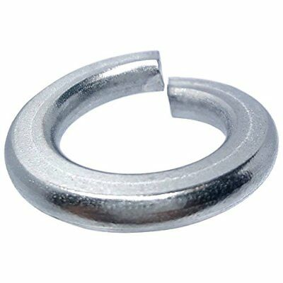 18-8 Helical Spring Lock Washers Medium Split AISI 304 Stainless Steel 600 pcs 1//4