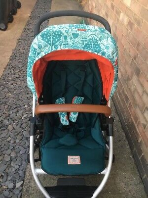 Mamas and papas zoom sola Urbo pushchair Donna Wilson limited edition