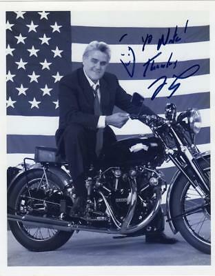 """Jay Leno """"Tonight Show"""" Autographed Signed 8 by 10 photo"""