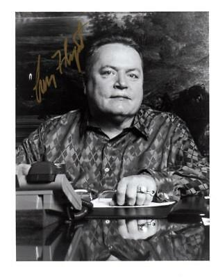 "Larry Flynt ""HUSTLER"" Autographed Signed 8 by 10 photo with COA"