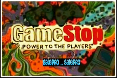 Gamestop Usa Ganeboy Console Power To The Players Foil Collectible Gift Card