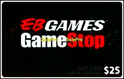 Eb Games Gamestop Giant Merge All Gaming Center Rare Collectible Gift Card