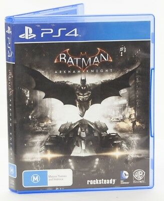 BATMAN Arkham Knight game disk Sony PS4 playstation 4  Mint condition
