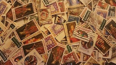 US Used/Canceled Postage Stamps 50 Different Christmas/Holiday  Stamps