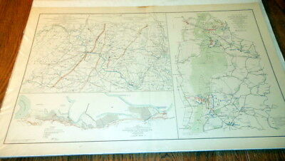 Civil War Battlefield Map - Official Records of the Union and Confederate #7