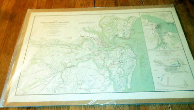 Civil War Battlefield Map - Official Records of the Union and Confederate #4