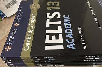 sell 100% new IELTS book 9,10, 11, 12 and 13 Academic version with CD