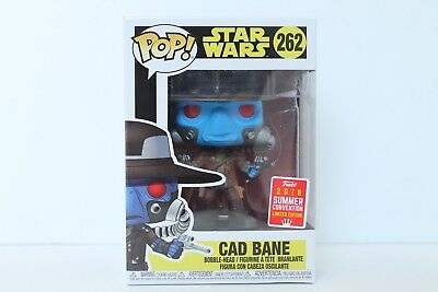 -F... Star Wars: The Clone Wars Vinyl RS Cad Bane SDCC 2018 US Exclusive Pop