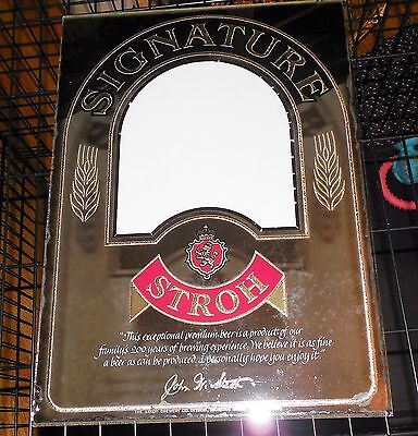 Signature Stroh Mirror Only No Frame