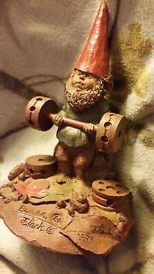 "Tom Clark Gnome Figurine - ""Bubba"" #24 signed"