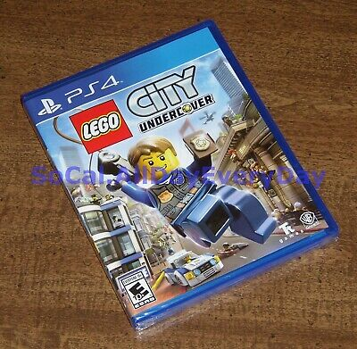 LEGO City Undercover (PlayStation 4) ******BRAND NEW & FACTORY SEALED!****** ps4