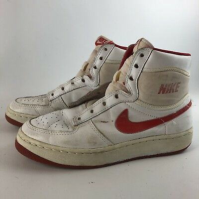 various colors d0d94 d0e54 Vintage 80s NIKE Sky Force Shoes Mens SZ 8 Skylark Sneakers 1984 Red White