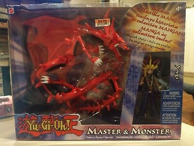 Yugi and Slifer the Sky Dragon Box Set. Master and Monster