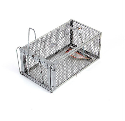 Indoor Outdoor Humane Live Animal Trap Cage Possum for Rat Mouse Catcher AU