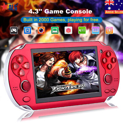 4.3'' 8GB Built-in 2000 Games Portable Handheld PSP Player Game Console