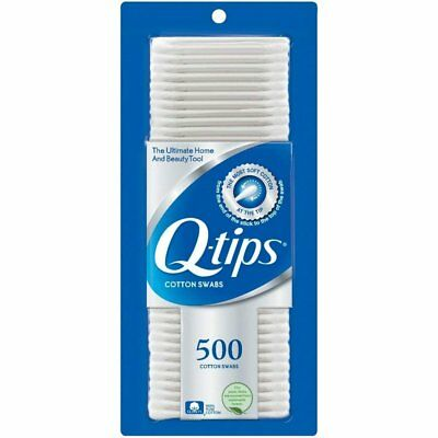 Q-Tips Cotton Swabs 500 ct (Pack of 6)
