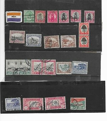 South Africa. Selection Of  22    Fine Used.  As Per Scan