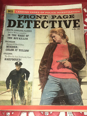 """Front Page Detective"" August 1964 Born in 1964? great gift idea"