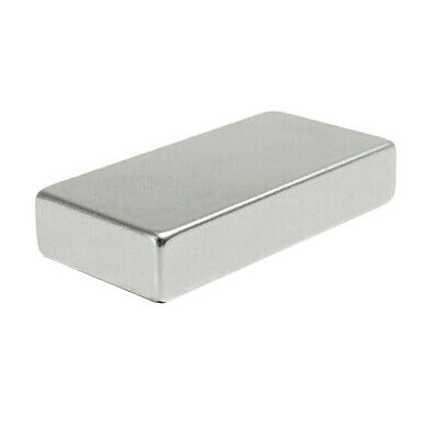 N52 Super Strong Block Cuboid Disc Magnet 50x25x10mm Rare Earth Neodymium Kit