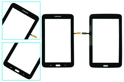 BLK Touch Screen Digitizer Replacement+Adhesive Samsung Galaxy Tab 3 7.0 SM T110