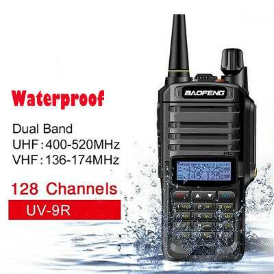 Baofeng UV-9R Plus 15W 8000mAh Dual Band Handheld Waterproof Walkie-talkie
