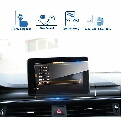 Car Navigation Screen Protector For 2017 2018 Audi A4 A5 MMI 7in Tempered Glass